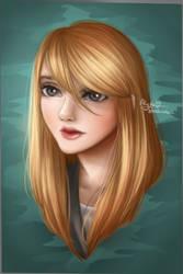 portrait by AlydaBookworm