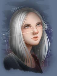 portrait #3 by AlydaBookworm