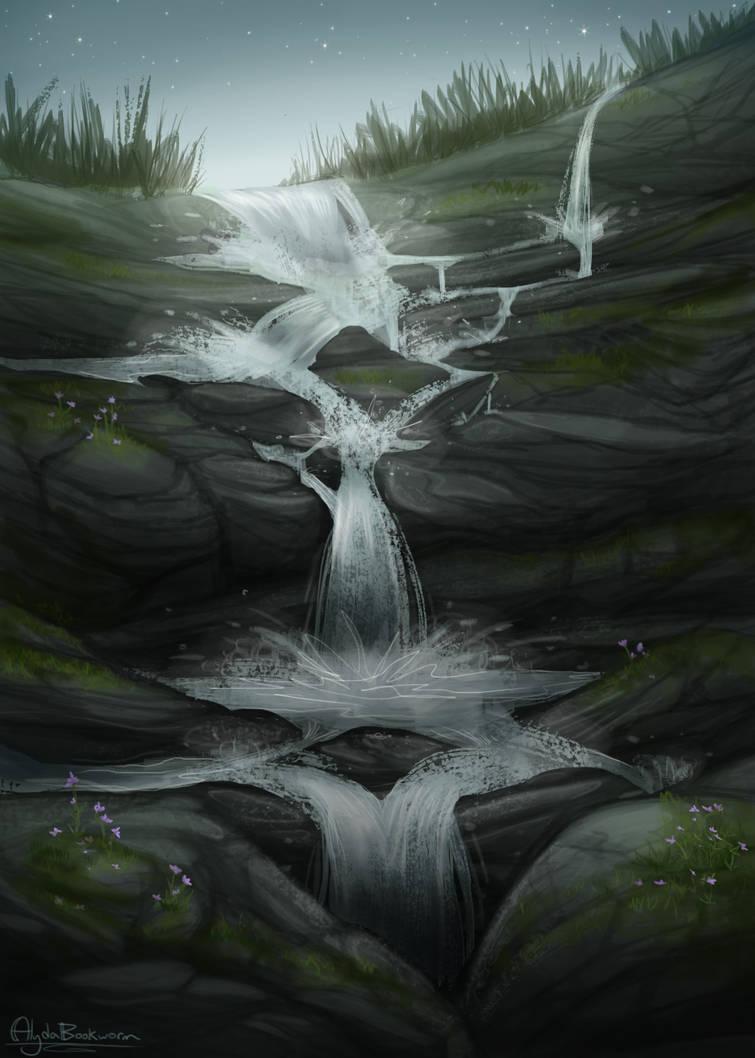 Waterfall by AlydaBookworm