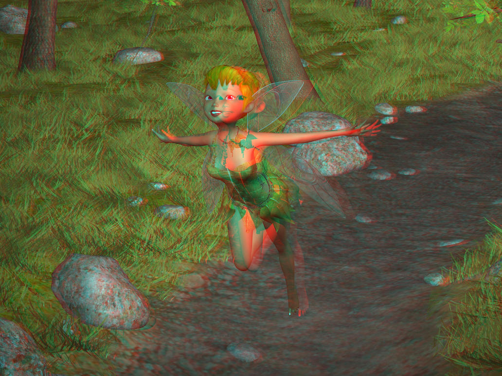 Tinkerbell 3d by Scavgraphics