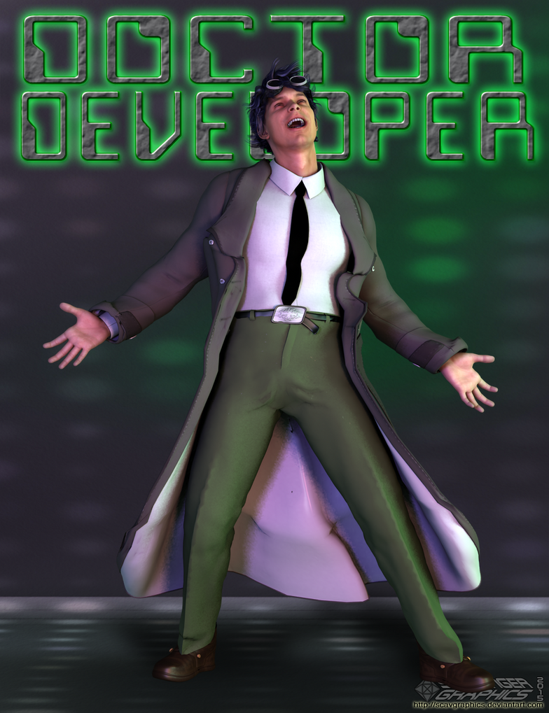 Dr. Developer by Scavgraphics