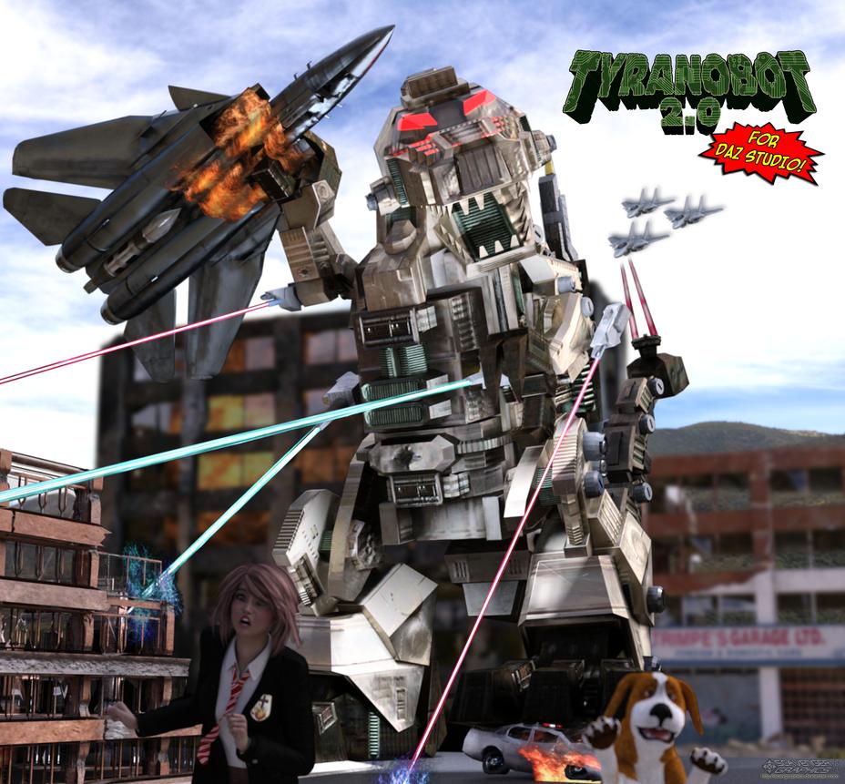 TyranoBot 2.0 by Scavgraphics