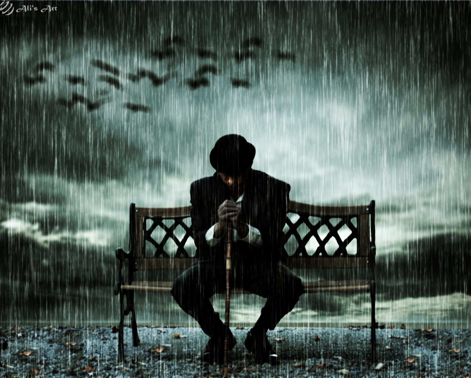 Waiting for Someone by jhonny53 on DeviantArt