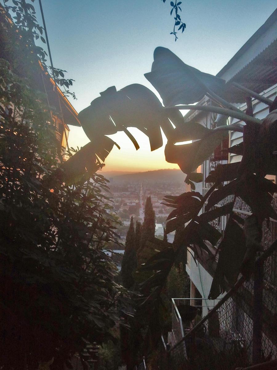 vertical sunset by amor-y-muerte