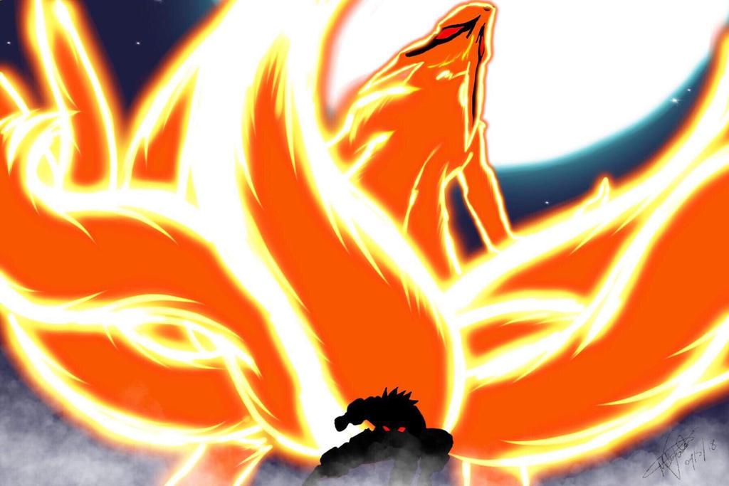 Naruto x nine tail  by haaaaaaaaaaaybaby