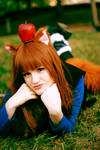 Horo Spice and Wolf Cosplay