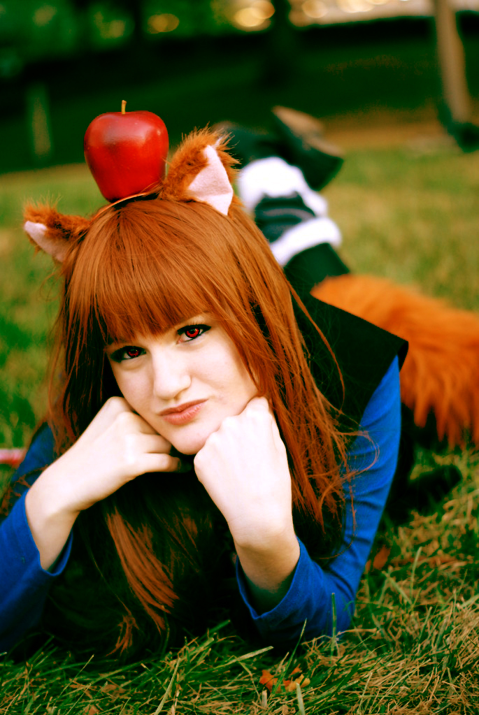 Horo Spice and Wolf Cosplay by AkemiYukimura