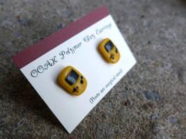 Gameboy Earrings by Blitzava