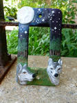 Woodland Wolves Switch Plate