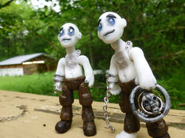 Two Nux BJDs ^_^ by Blitzava