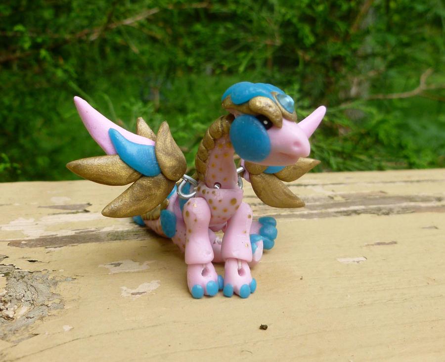 Pink Dragon BJD (for sale) by Blitzava