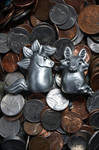 Pewter Sculpts