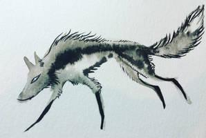 Ink Fox by Blitzava