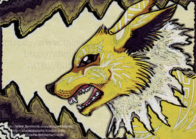 Fanart-Jolteon by Blitzava