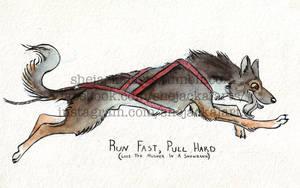 Run Fast Pull Hard by Blitzava