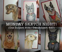 Sketch Night Promo by Blitzava