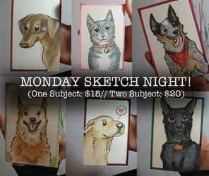 Sketch Night Promo