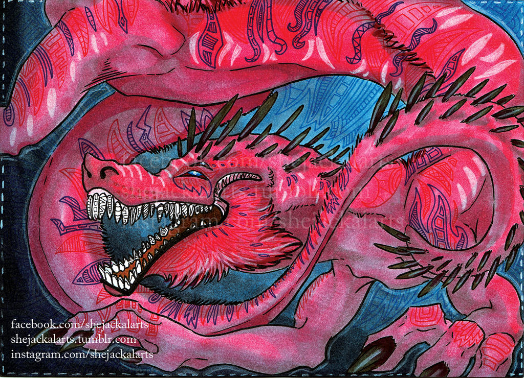 Red Dragon by Blitzava