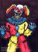 Happiest Clown Monster by Blitzava