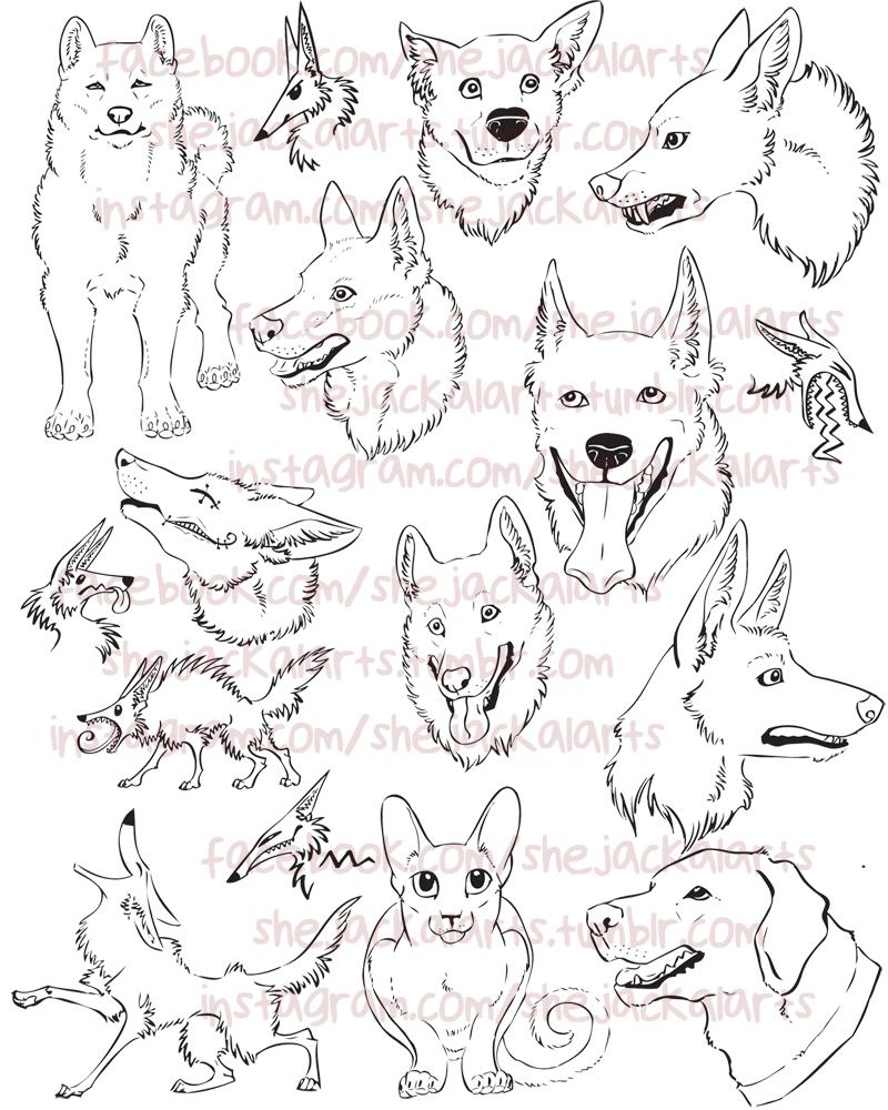 Sketchbook Dump by Blitzava