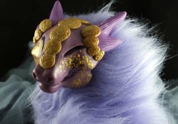 Posable Art Doll- Purple Two by Blitzava