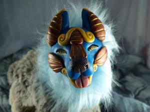 Art Doll-Blue Canine!