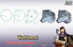 Wolf head - Mink's Tutorials (YouTube)