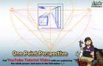 One Point Perspective - Mink's Tutorials (YouTube)