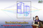 Two-Point Perspective - Mink's Tutorials (YouTube)