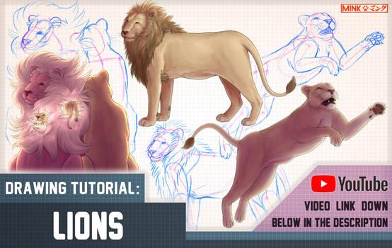 Lions - Mink's Tutorials (+ YouTube Video)