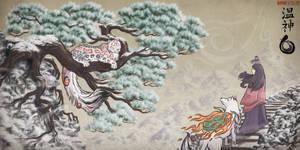 Himalayas' Goddess (Snow Leopard Special Drawing)