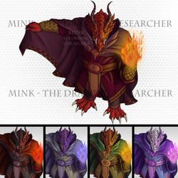 Dragonborn Sorcerer / Wizard - Tabletop Token
