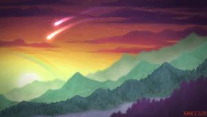 Rainbow Hills - Speedpainting