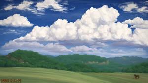 Cloud Hills - Speedpaint