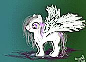 pony for little Snowy Owl by BlazinFox