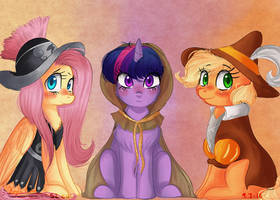 Saviors of Equestria by compassrose0425