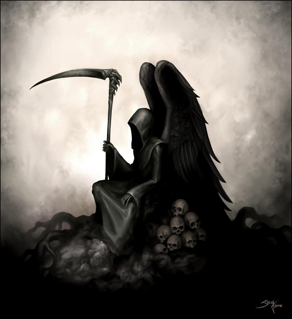 Фото картинок смерть с косой 6 фотография