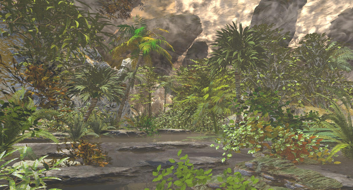 The Tropical Lair ( Bryce 10 years after ... ) by SOULSSHINE
