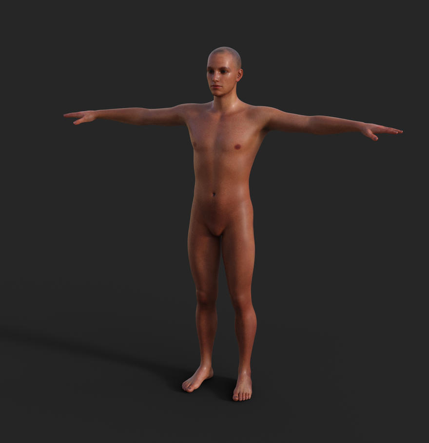 2 - Genesis 3 Male - Skinz Shader - Front Render by SOULSSHINE