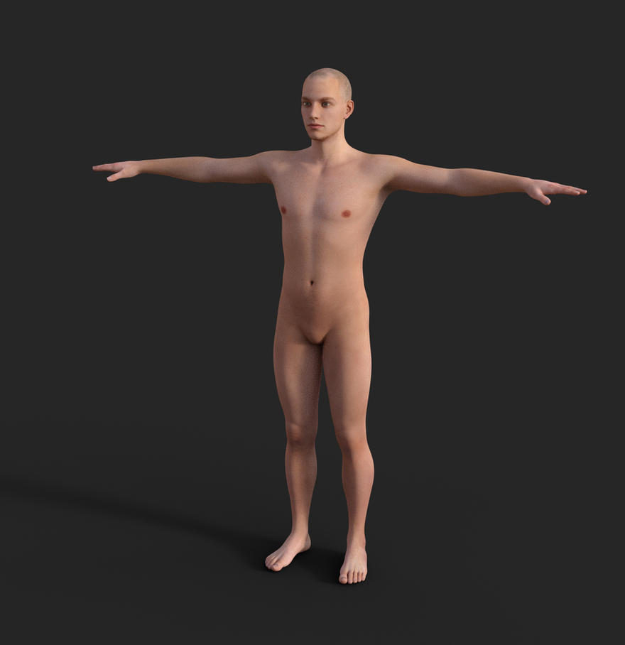 1 - Genesis 3 Male - Base Shader by SOULSSHINE