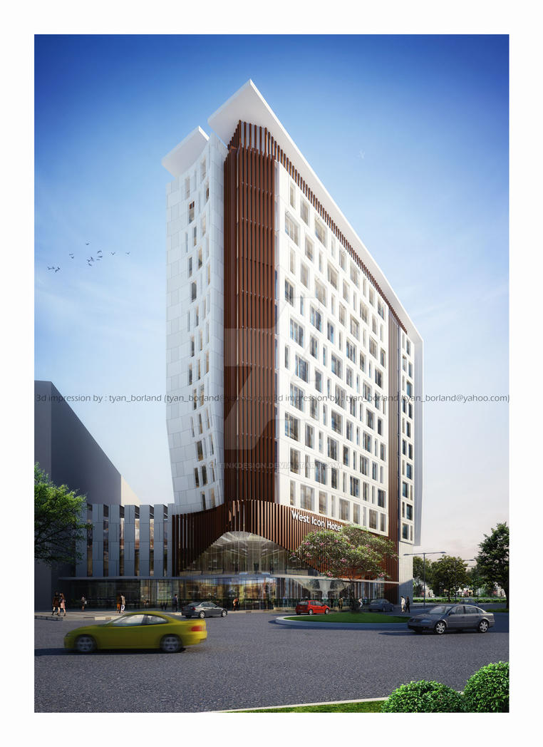 Wi hotel jakarta indonesia by q tinkdesign on deviantart for Design hotel jakarta