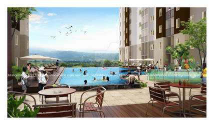 pool - parahyangan residences
