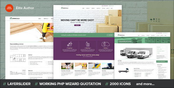REMOVALS - Removals and Moving Template by Ansonika