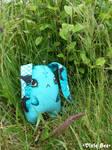 Bunnie in the Grass