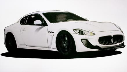 Maserati GTO Drawing by Chad910108