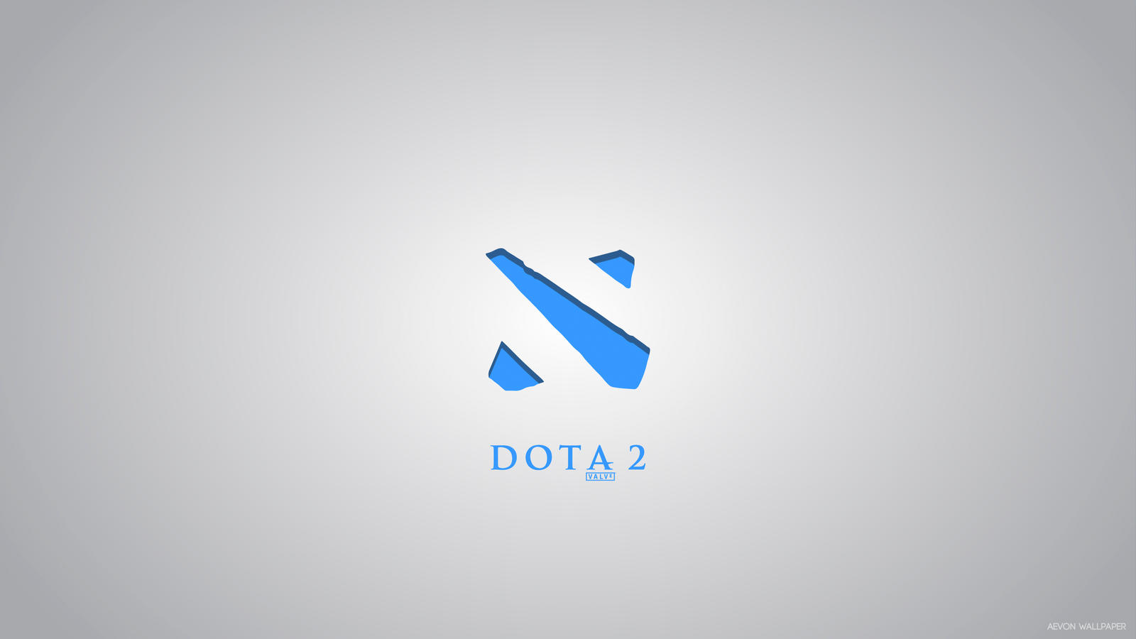 Dota 2 Ice Simple Wallpaper by aevonboy on DeviantArt