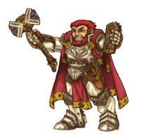 Ulfgar Firehammer by butterfrog