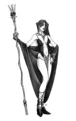 Morgan Le Fay by butterfrog