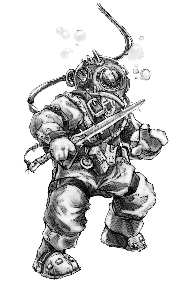 diving suit f by butterfrog on deviantart