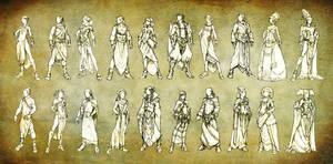Fashion Sample Sketches